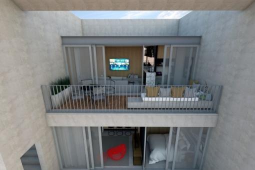 Cobertura Duplex 88m2  Unidades no contra-piso